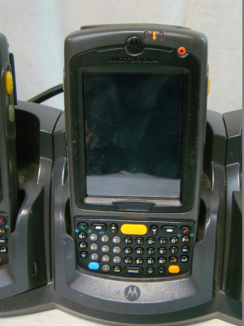 4 motorola wireless handheld computer barcode scanner mc75a 32 n410. Black Bedroom Furniture Sets. Home Design Ideas