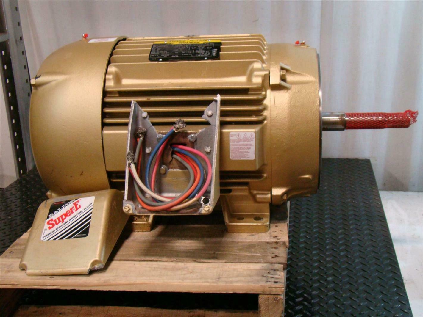 Baldor reliancer super e motor 60hp 3560rpm 460v 12h062x981g1 for Baldor reliance super e motor