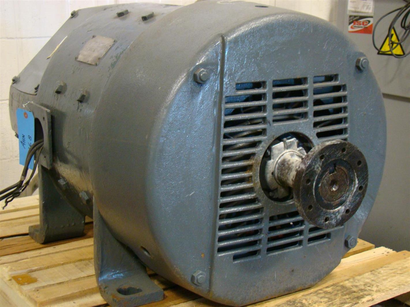 General electric 30hp dc motor shunt wound 400v 850rpm for General electric dc motors