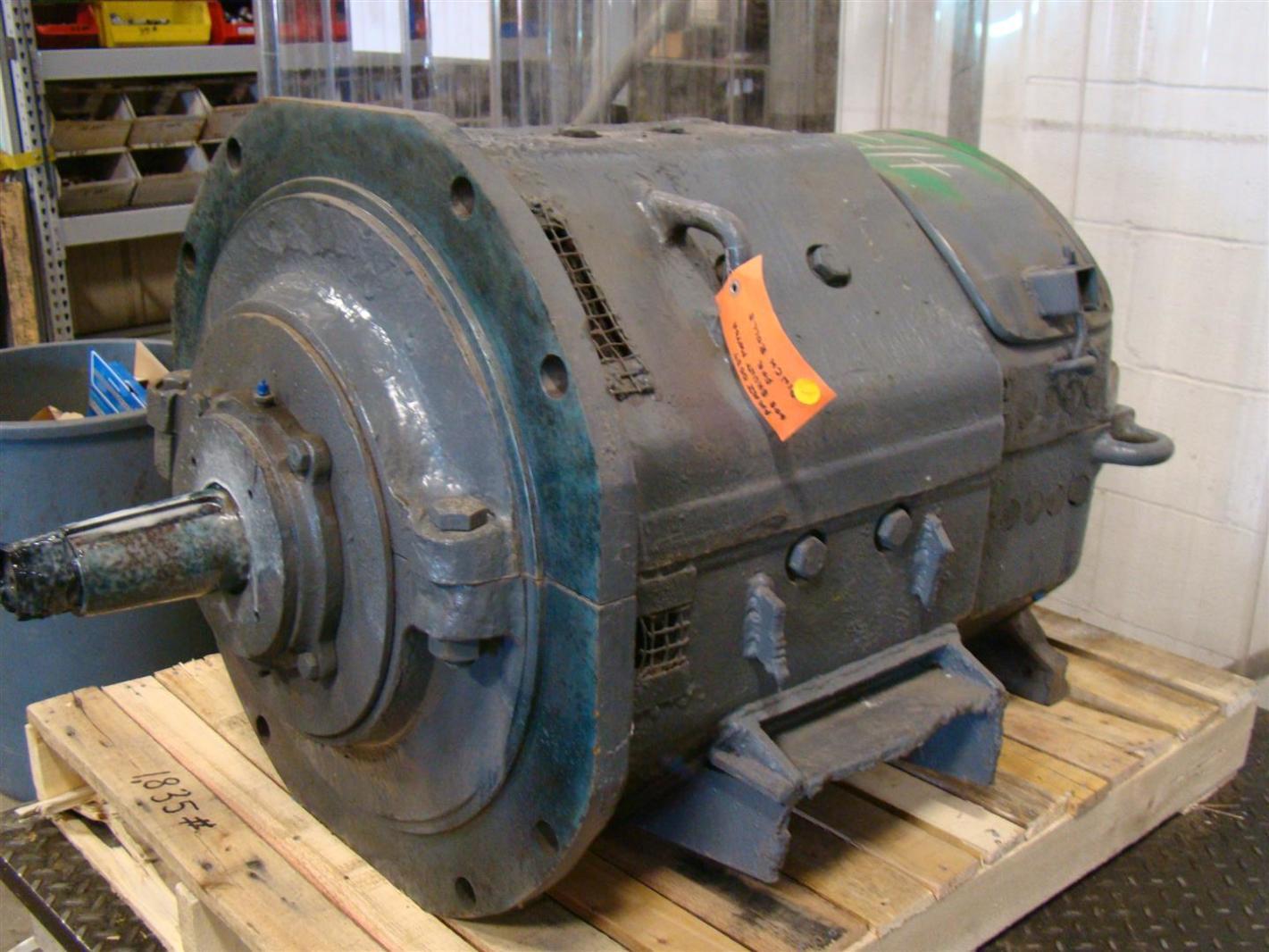 General electric 35hp dc motor 230v 128 5amp 7405483 for General electric dc motors