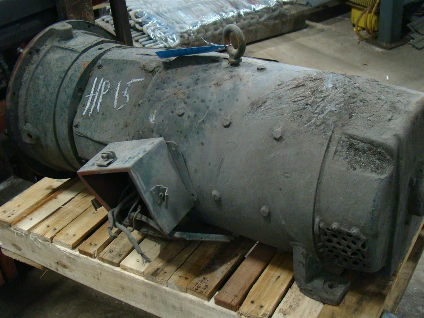 General Electric 15hp Motor 240 409v 55amp 5by409a1 Ebay