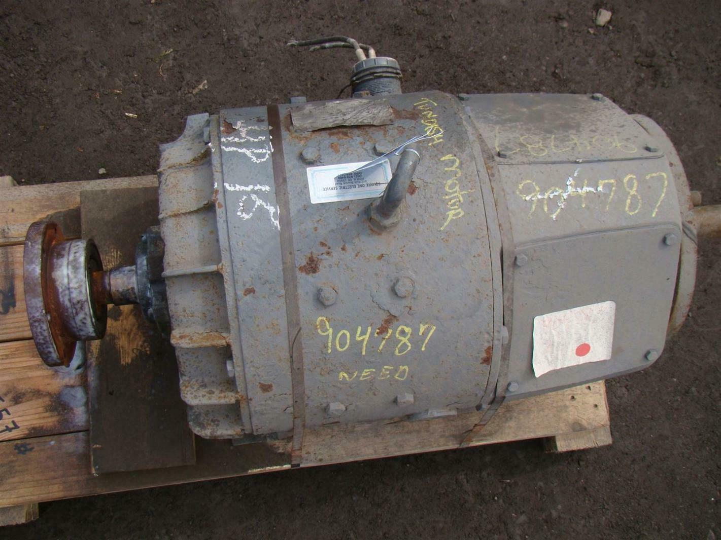 General Electric 15hp Dc Motor 240volts 56amp Rpm 1100