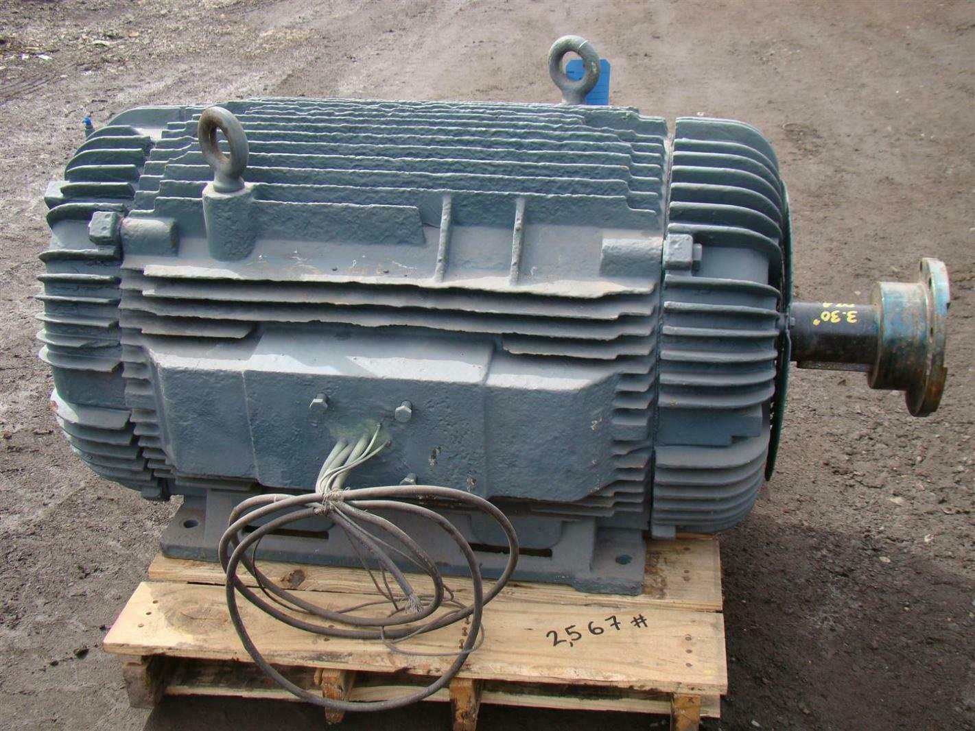 Large Electric Motor With Insocoat Bearings Ebay