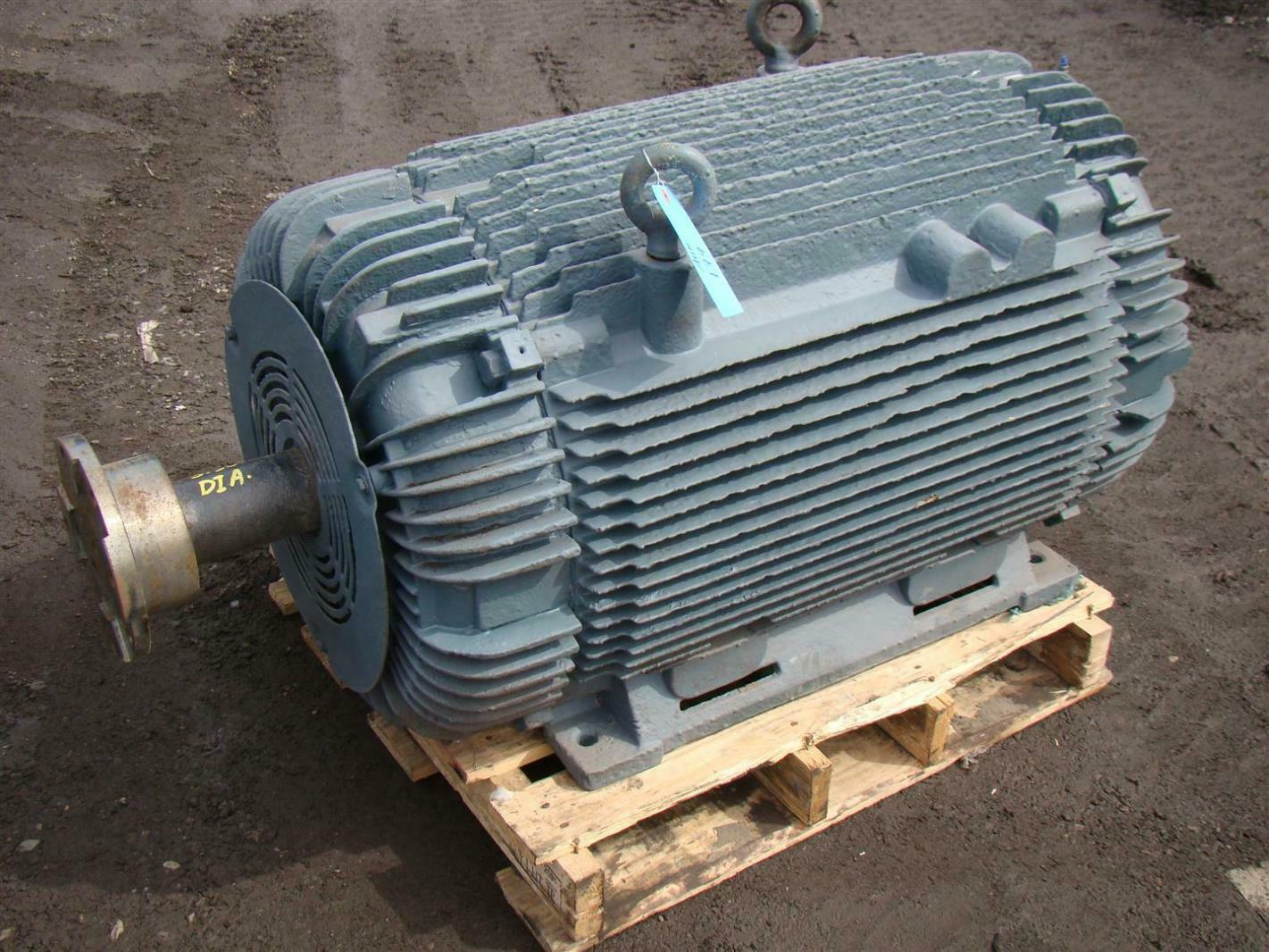 Large Electric Motor With Insocoat Bearings Joseph