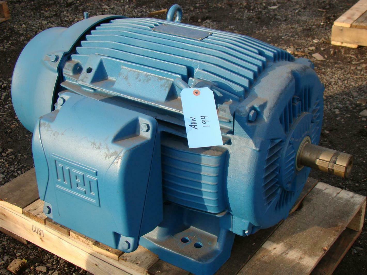 Weg Motor 100hp 380v 132a 3555rpm Z000180845