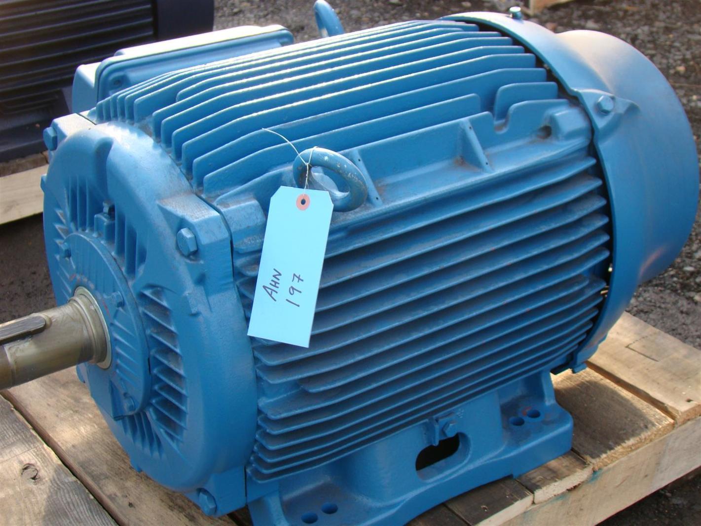 Weg Motor 60hp 380v 82a 1780rpm Z0618et3j041411 W22
