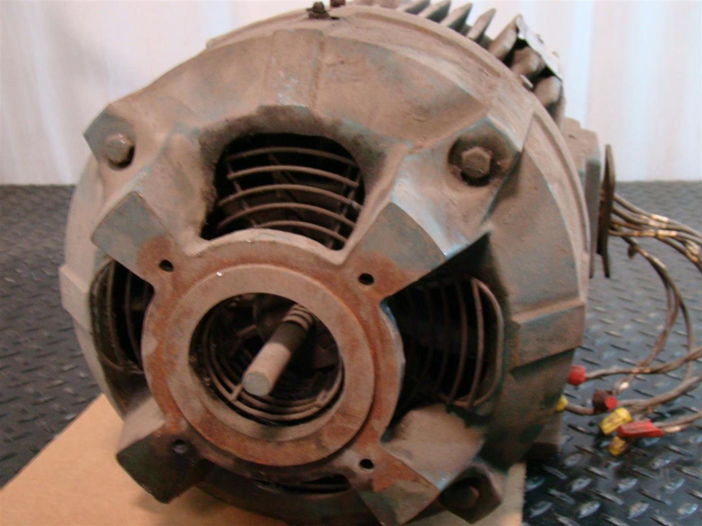 Allen Bradley 15hp Electric Motor 230 460v 3 1765rpm