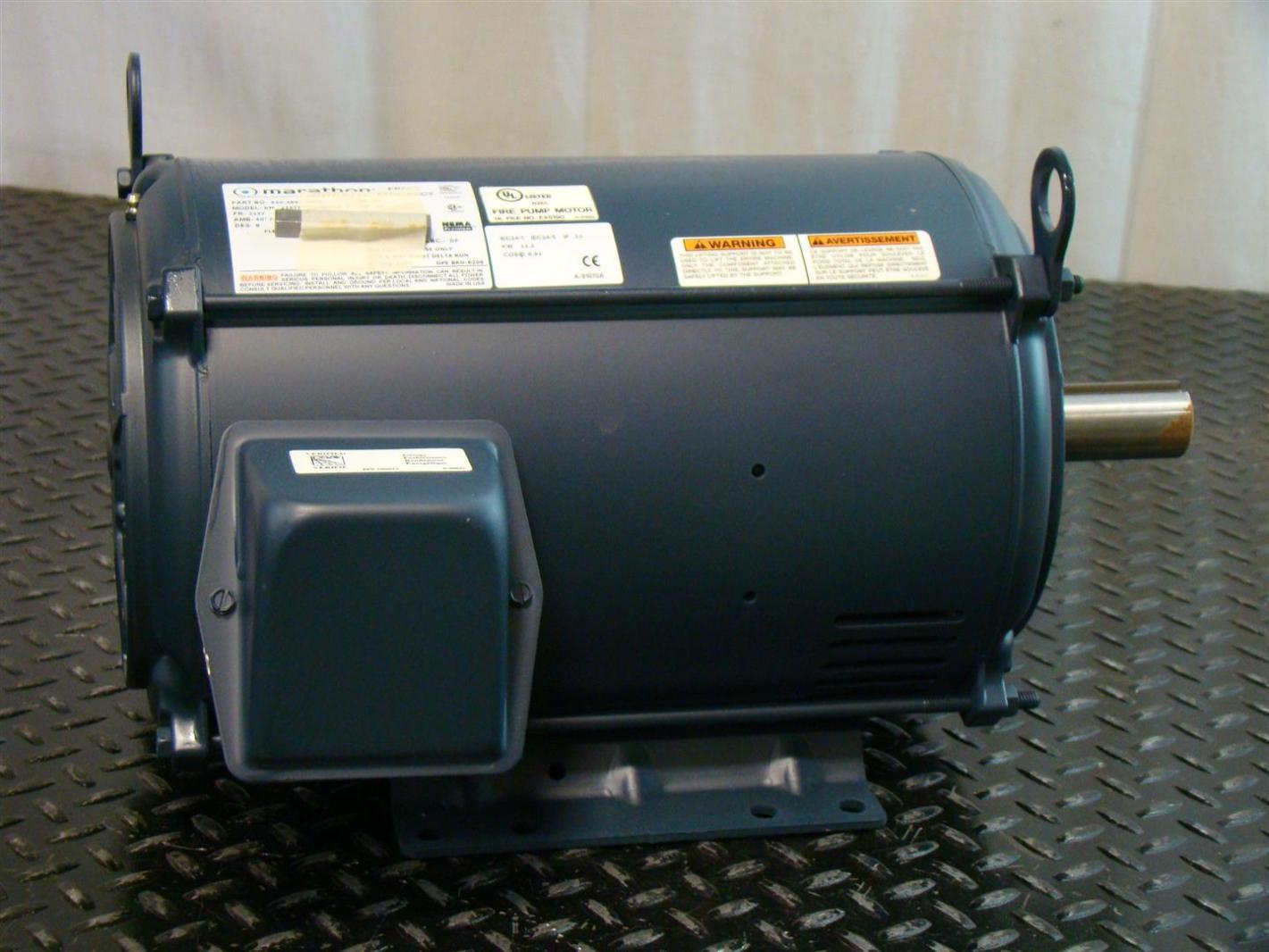 Marathon Electric Motor 15hp 3510rpm 230 460v 3 Km