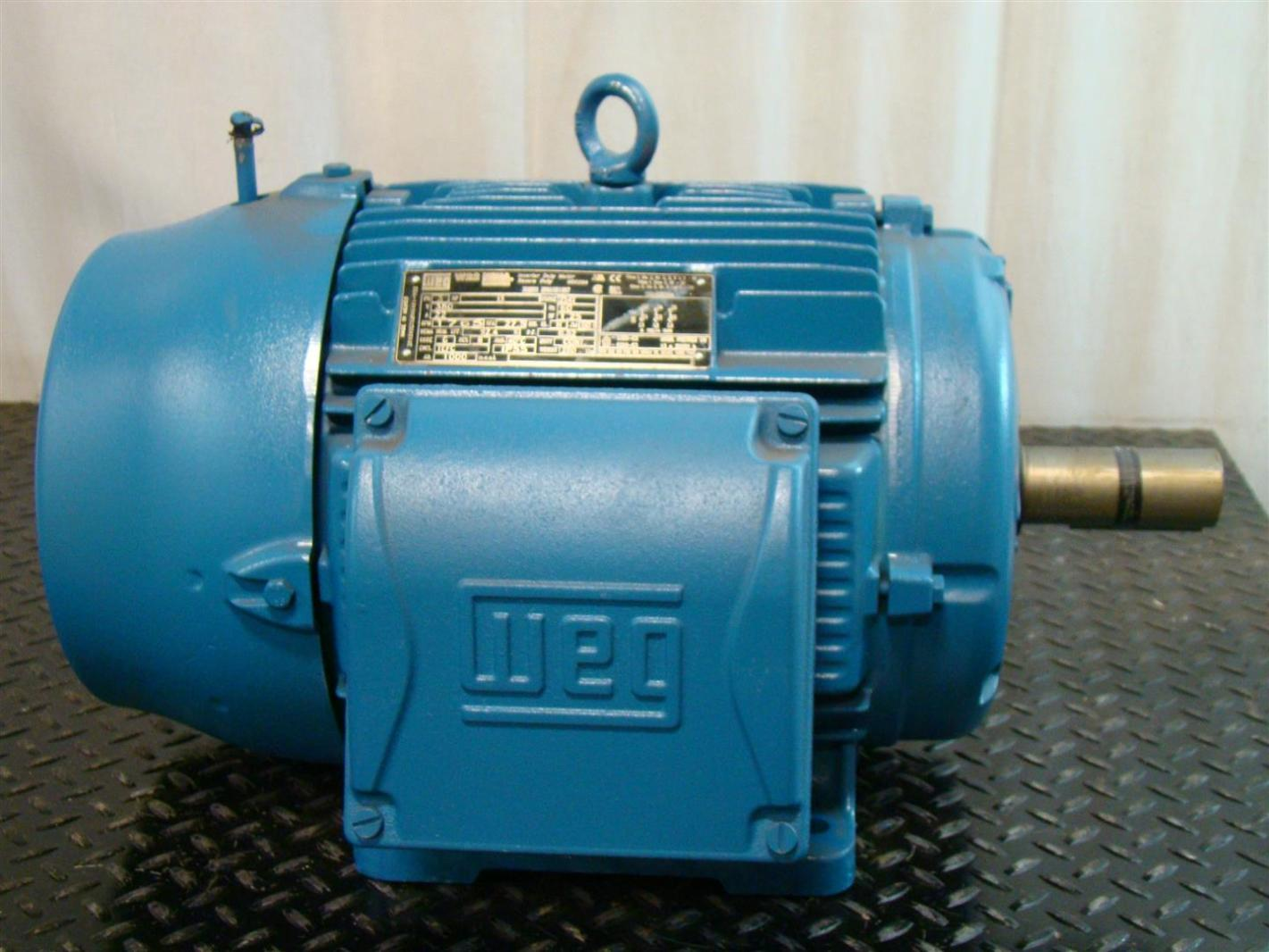 Weg Nema Premium W22 Inverter Duty Motor 3 15hp 380v 22a