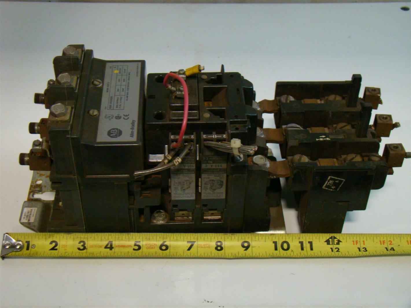 Allen Bradley Size 3 Motor Starter 460 575v 50hp 90a 500f