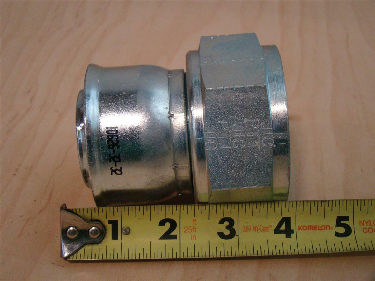 Parker hydraulic fitting 10626 32 32 ebay for Parker hydraulic motor identification