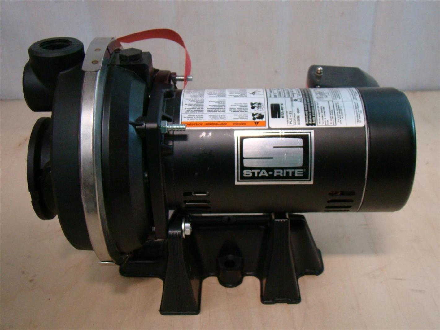 Sta Rite 1hp Deep Well Jet Pump 3450rpm 1ph Ple 2l Ebay