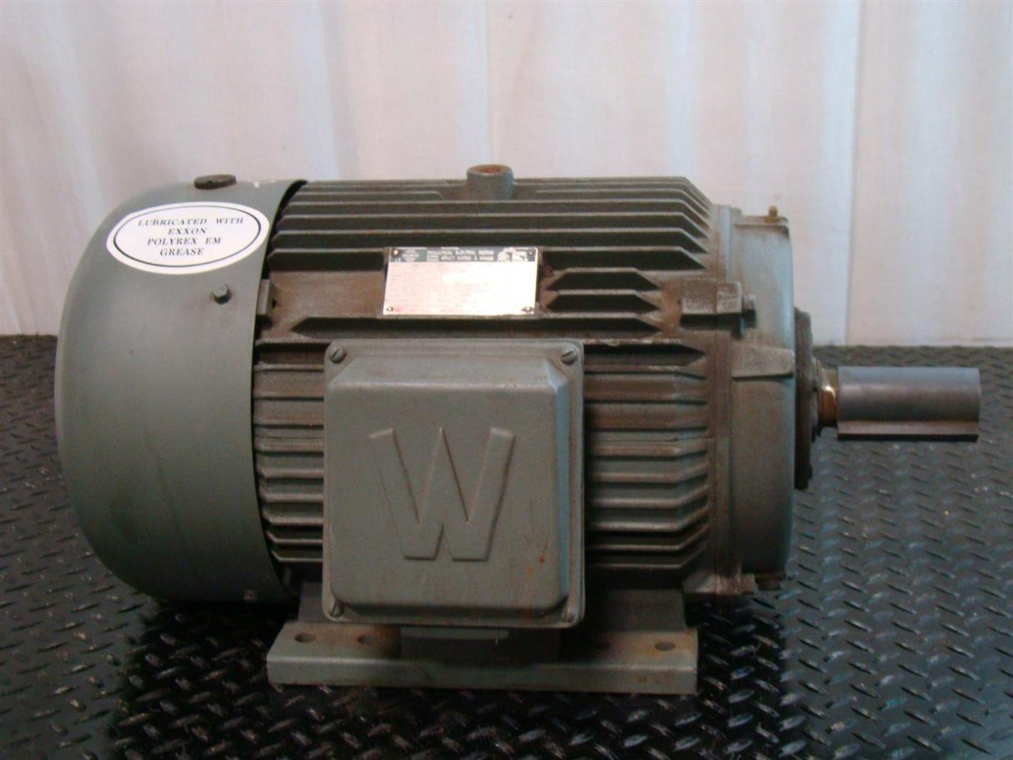 Worldwide Industrial Electrical Motor 3 Phase 10hp 230