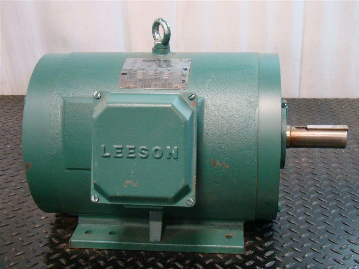 Leeson Motor 230 460v 1775rpm Hp15 C256t17db5d Joseph
