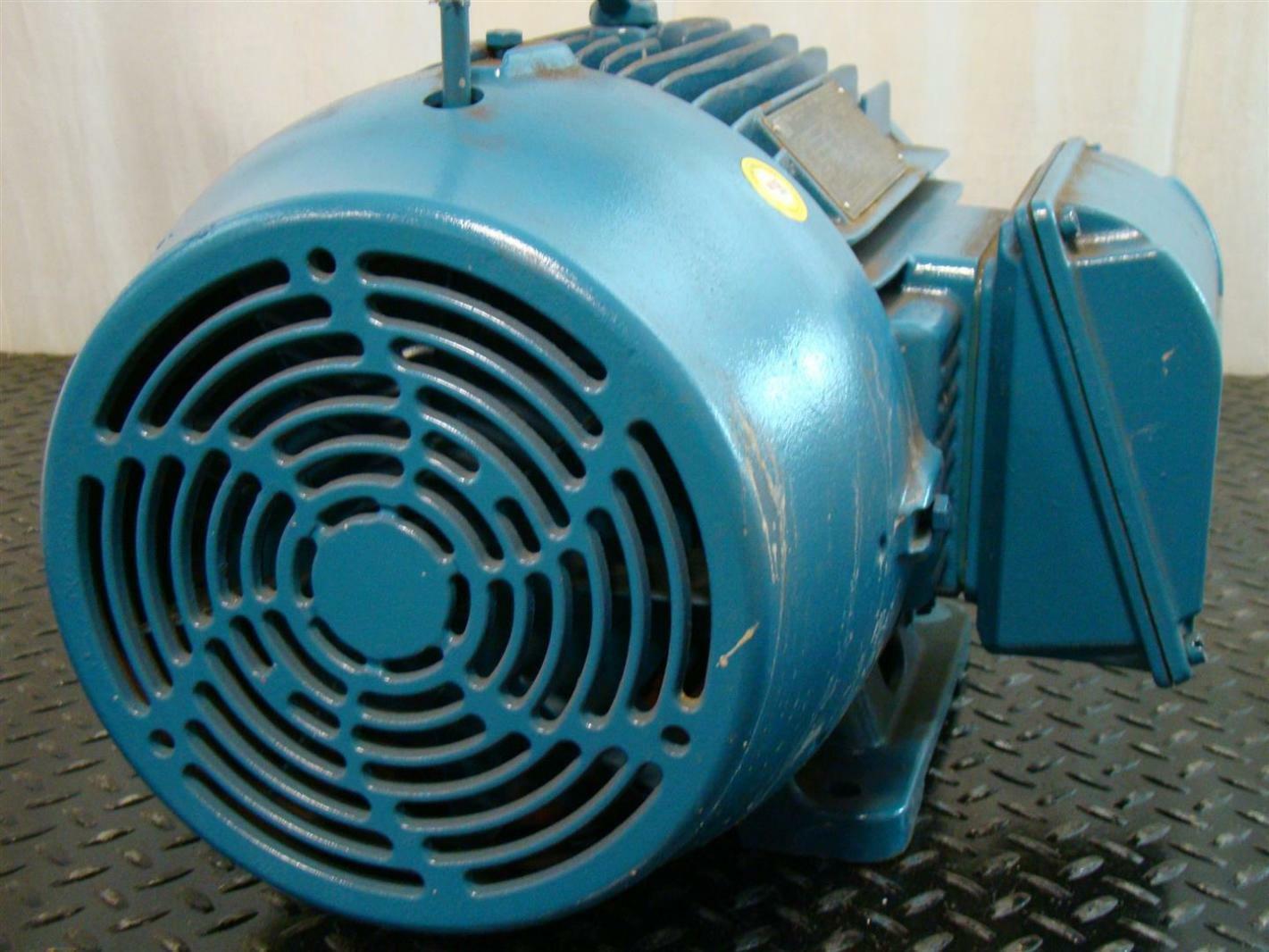 Weg Electric Motor 15hp Ph3 230 460v 35 6 17 8a 1765rpm