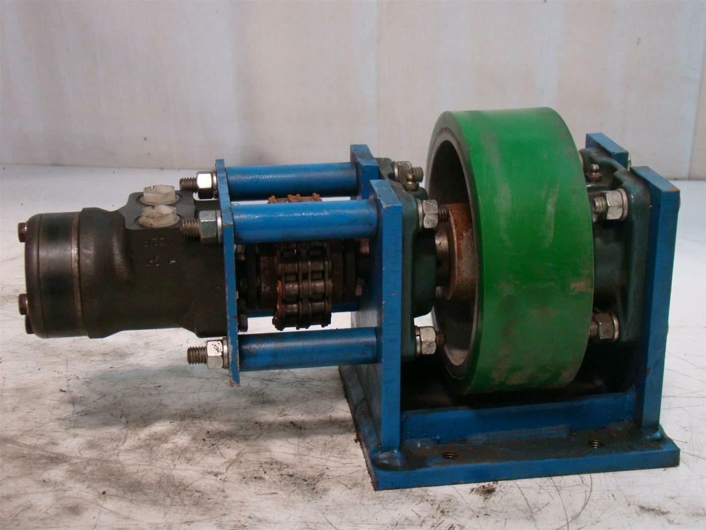 Danfoss Hydraulic Motor Urethane Roller 2605 Dh160 151