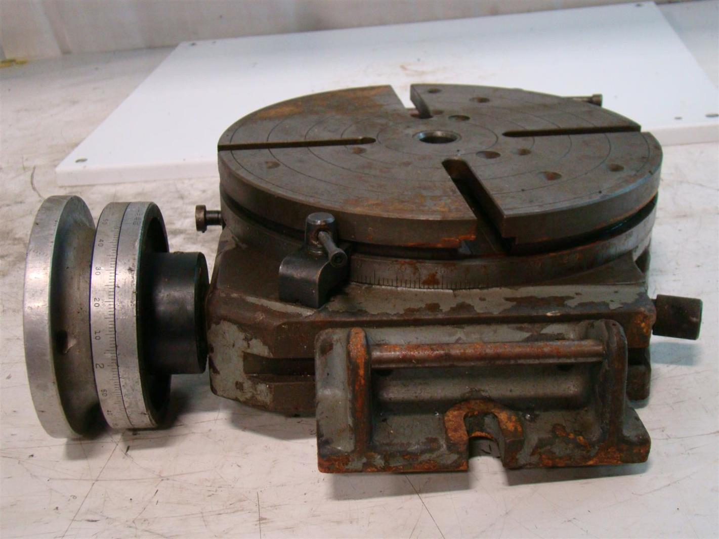 bridgeport 12 rotary table 3000 ebay