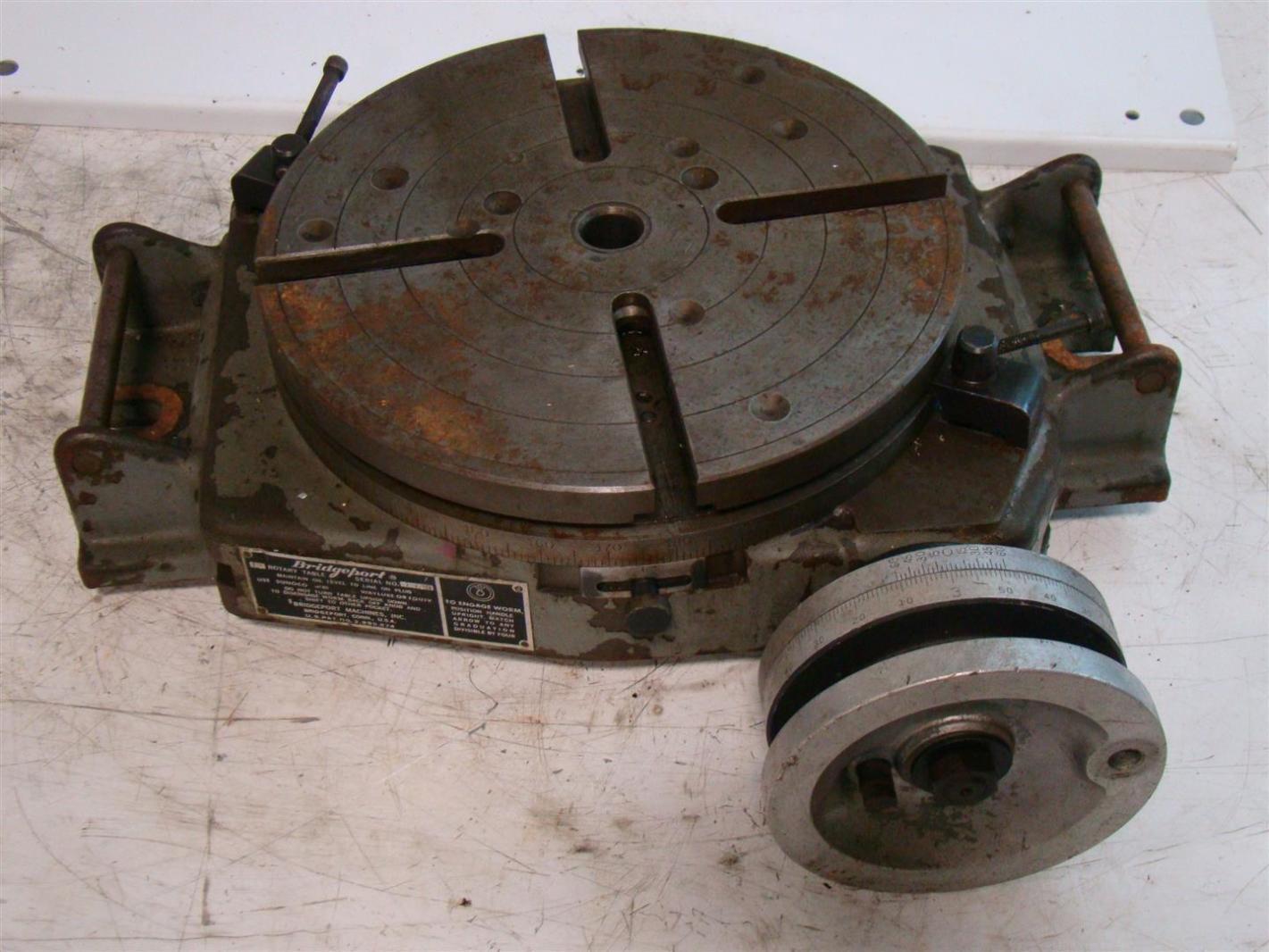 Bridgeport 12 rotary table 3000 joseph fazzio incorporated for 12 rotary table