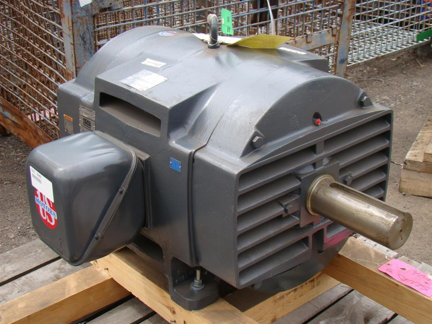 Us Motors Nema Premium 150hp Electric Motor 230 460v