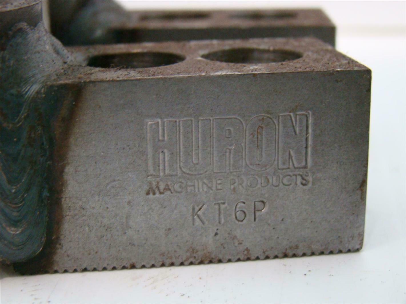 (3) Huron Custom Jaws for Lathe Chuck 1.2590 x 2.8125 x 0 ...