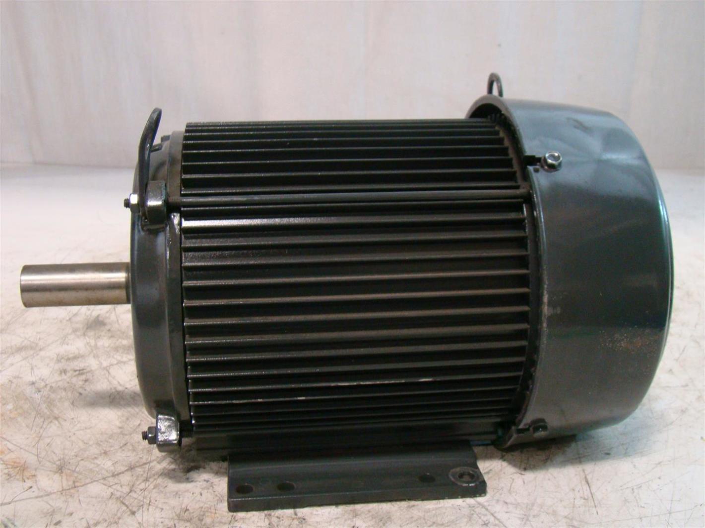 Usmotors 3hp 3540rpm Electric Motor 208 230 460v U3p1d