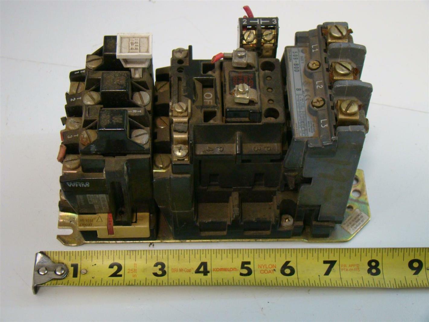Allen Bradley Size 1 Motor Starter 115 200v 509 B0d