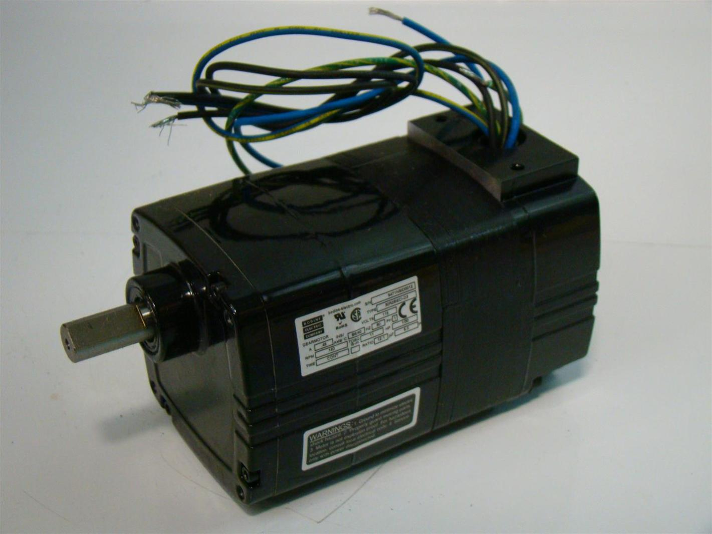 Bodine Electric Gearmotor 115v 30r2beci D3 5471nsid0012 Ebay