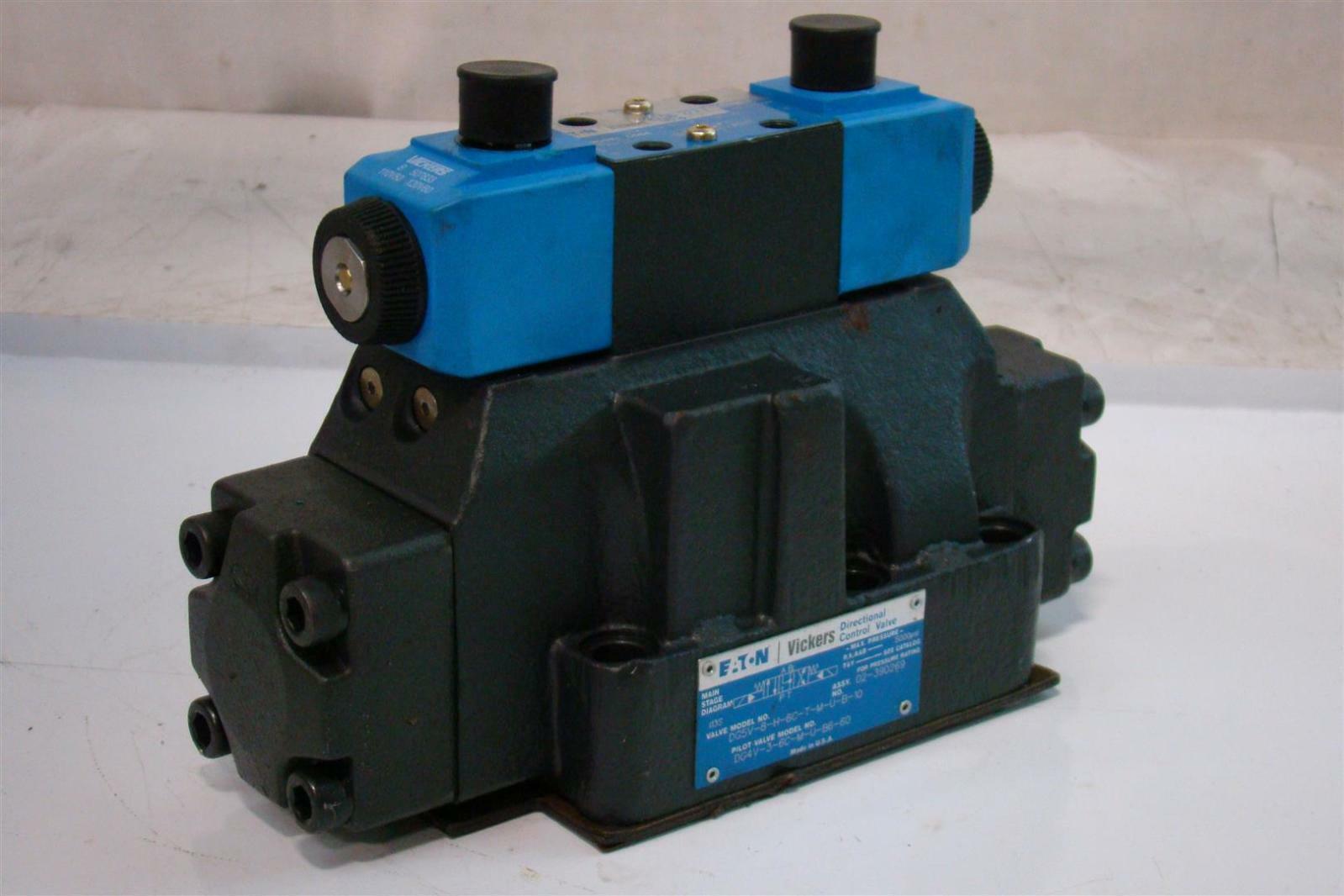 Eaton Vickers Directional Control Valve 5000psi Dg5v 8h 6c