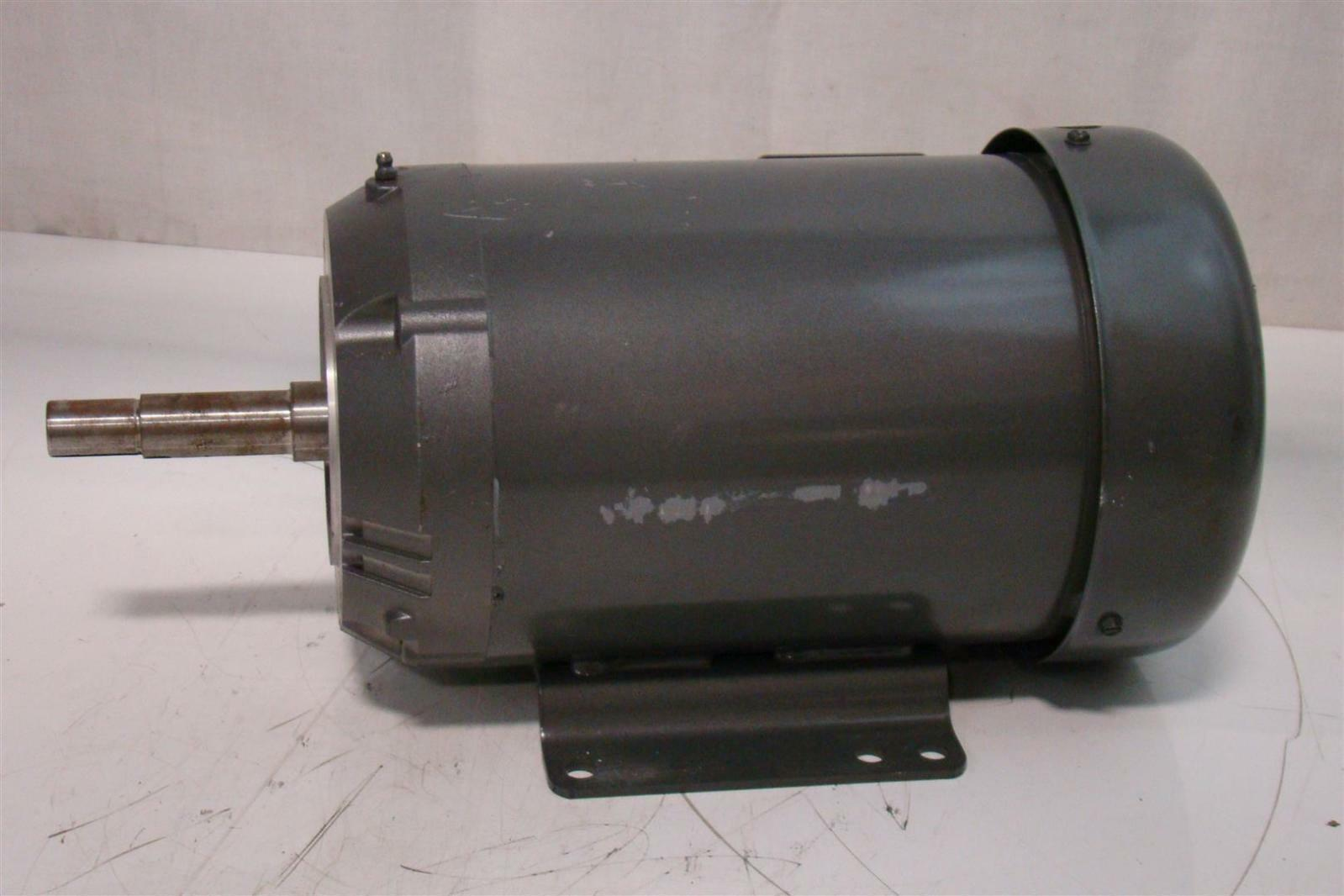Baldor reliancer 5hp motor 230 460v 13 6 6 8a 1745rpm 3ph for Baldor industrial motor parts