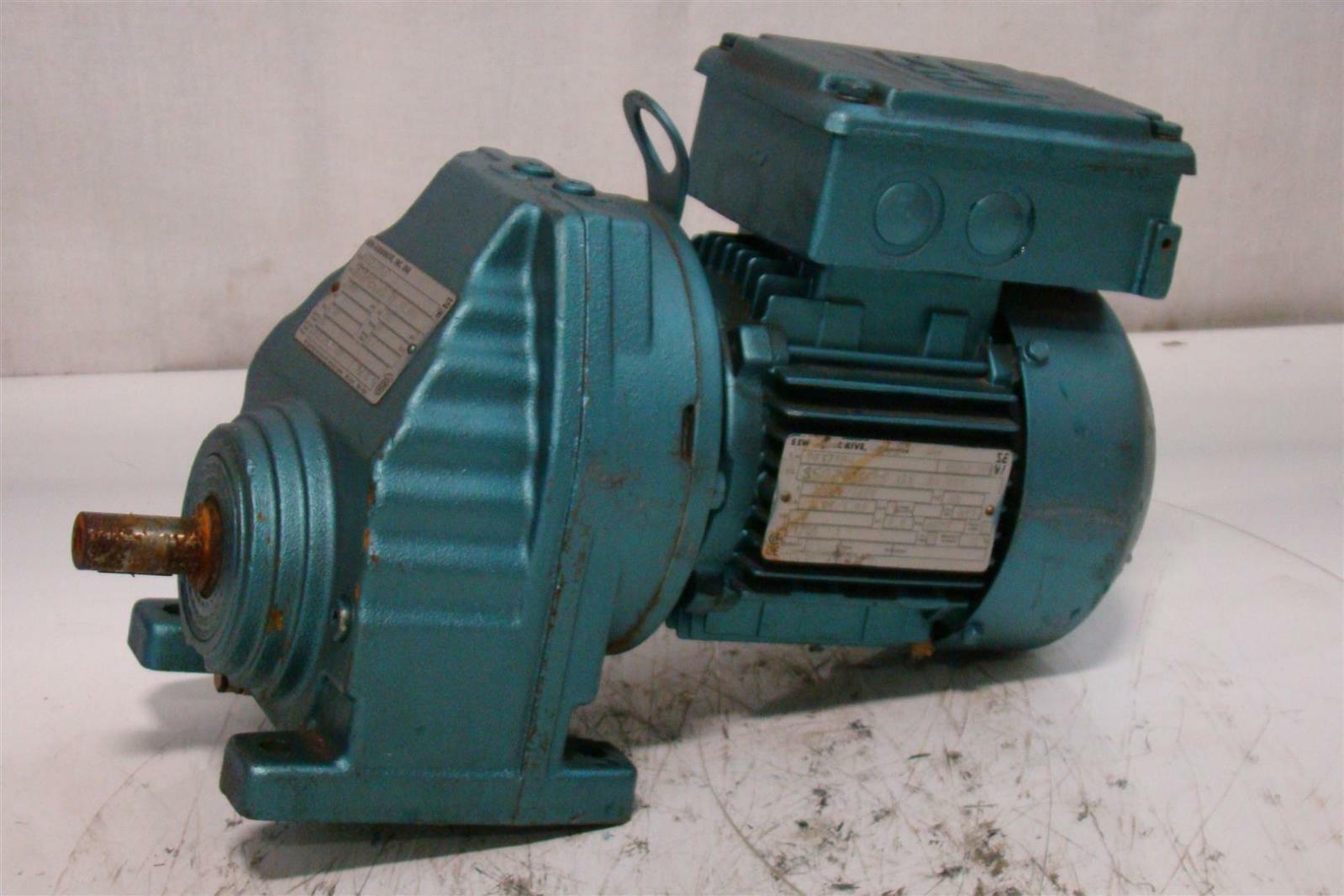 Sew Eurodrive Gearmotor 1700rpm 230 460v 2 1a 850292638