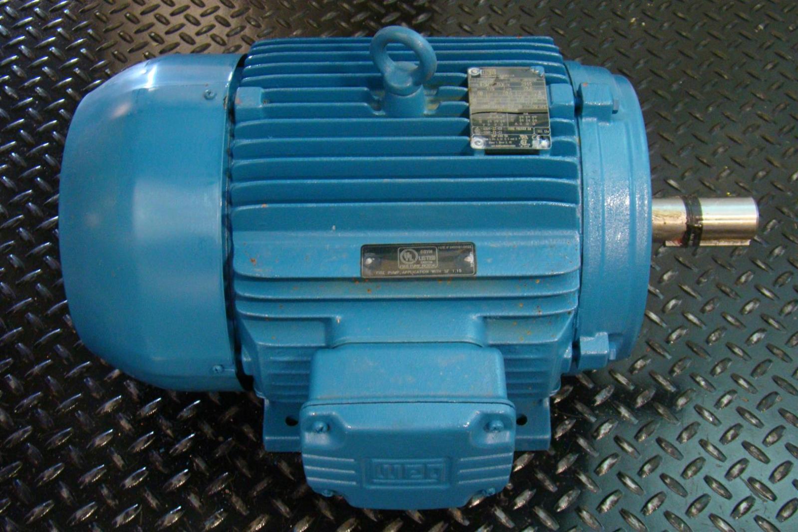 Weg Electric Motor Ph3 40hp 1775rpm 200 400v