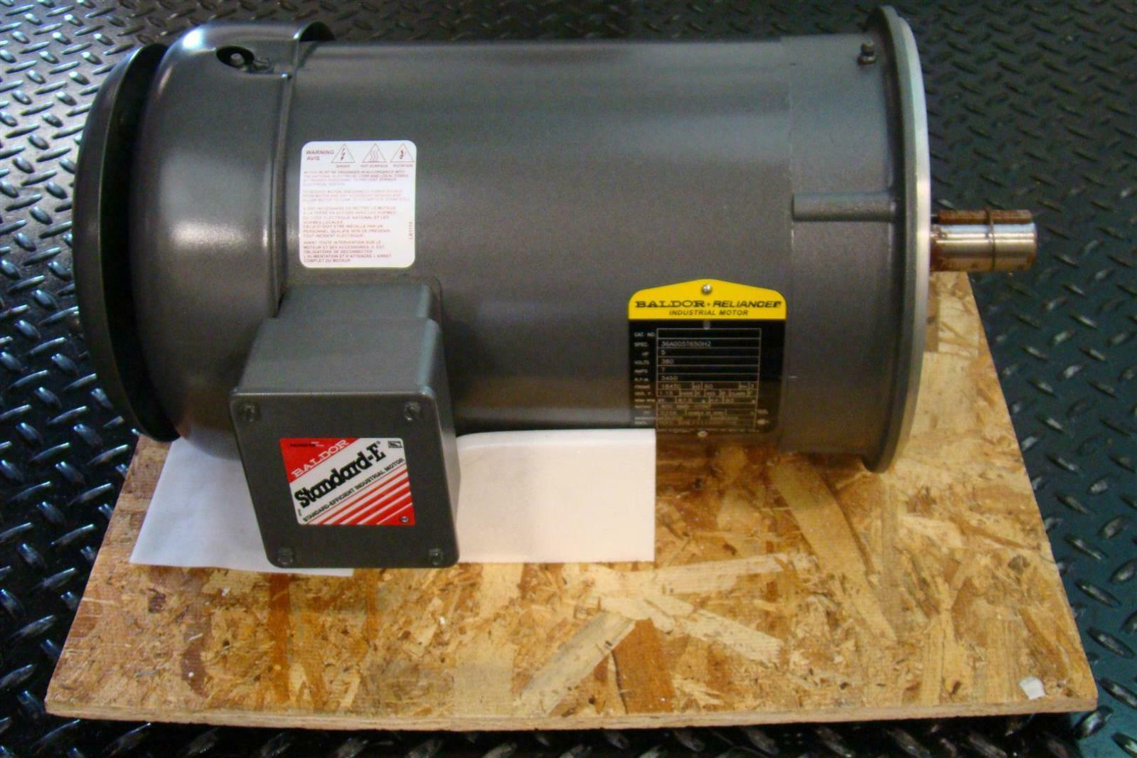 Baldor Reliancer Electric Motor 5hp 3450rpm 380v