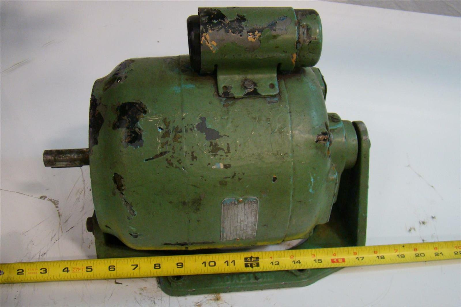Vintage General Electric Ac Motor 1ph 3  4hp 115  230v 1725rpm 60cy 5k073ab316bx