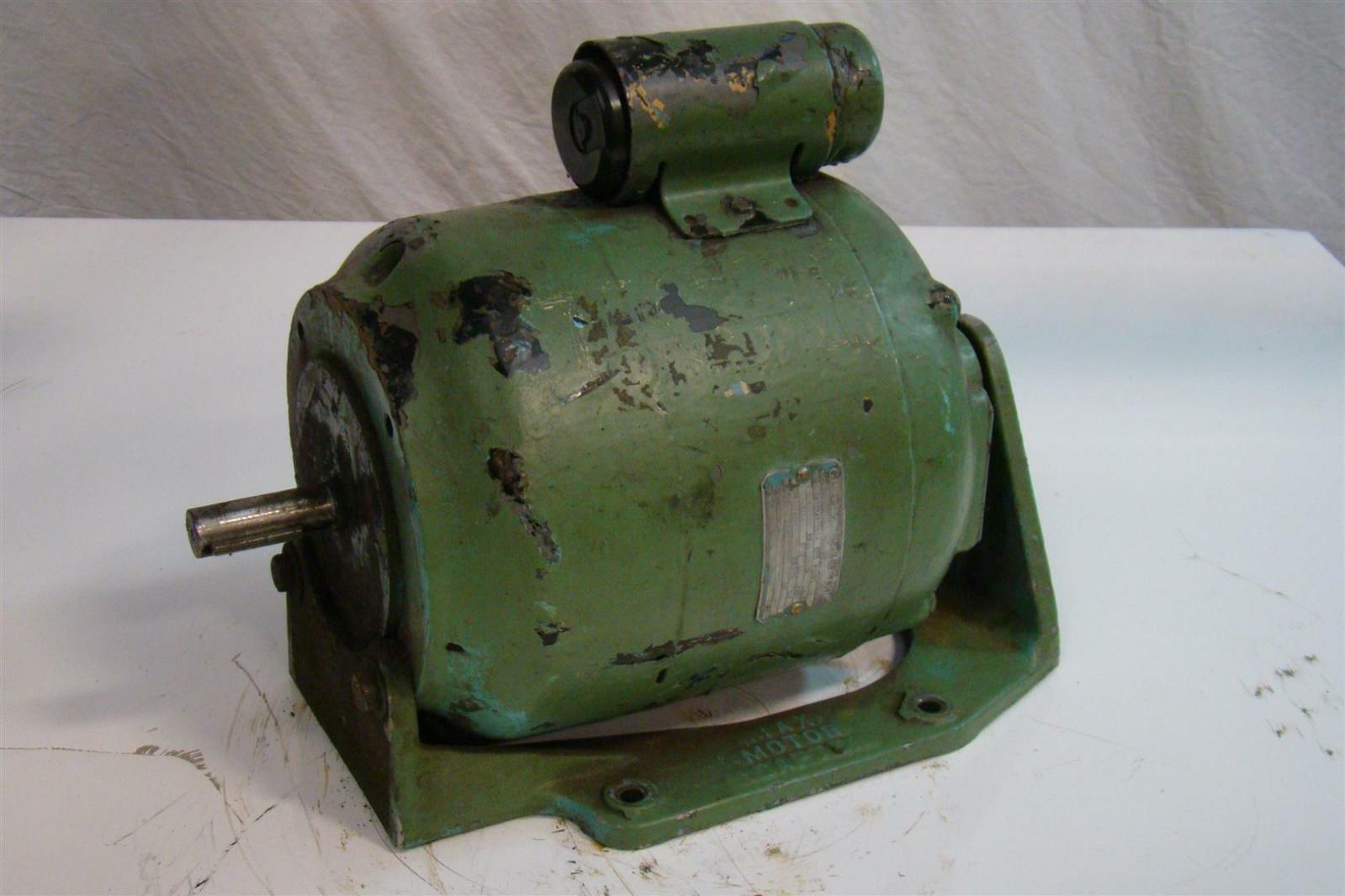 Vintage General Electric Ac Motor 1ph 3 4hp 115 230v