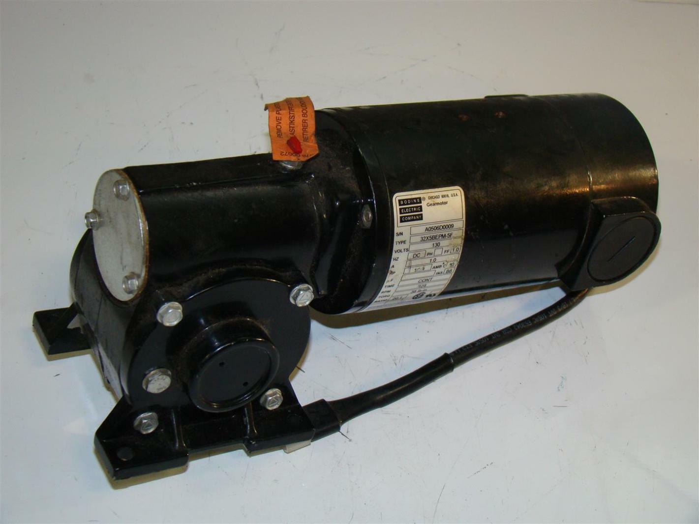 Bodine Electric Company Gearmotor Ratio 20 1 130v 1 2hp 1a
