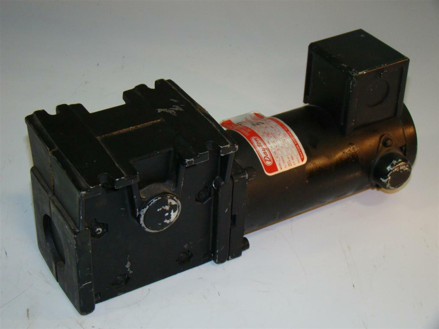 Dayton Dc Gearmotor 175rpm 1 8hp 10 1ratio 4z135b