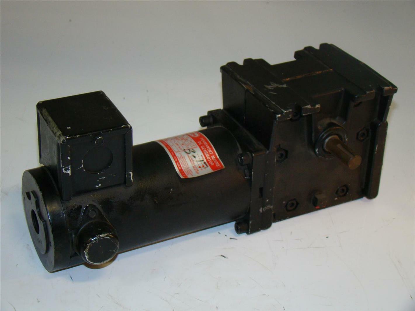 Dayton Dc Gearmotor 175rpm 1 8hp 10 1ratio 4z135b Joseph