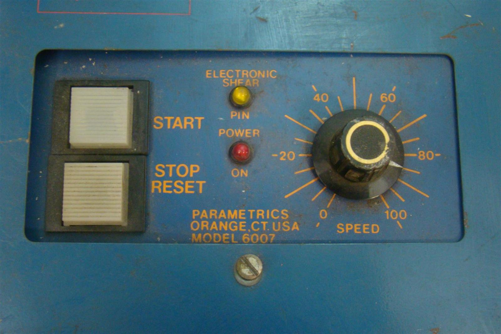Fhp Parametrics Ac Motor Speed Control 6007 Single Phase