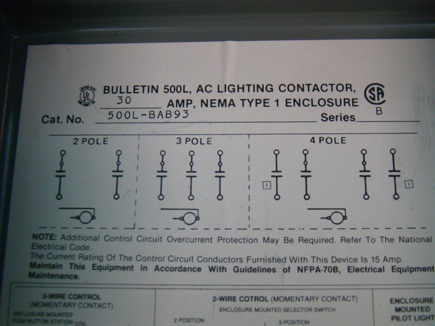 Allen Bradley Photoelectric Sensor Wiring Diagram Electrical For Area Lighting Research Photocell Reflector