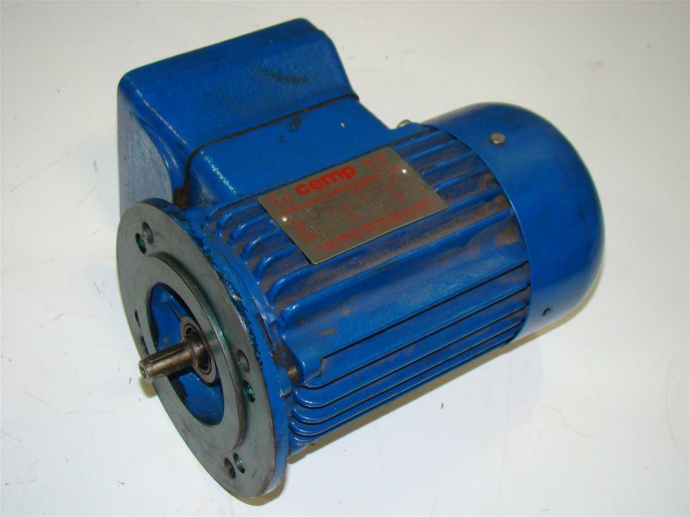 Cemp Motor 220v 1 2a 11b T4 Eex D Joseph Fazzio