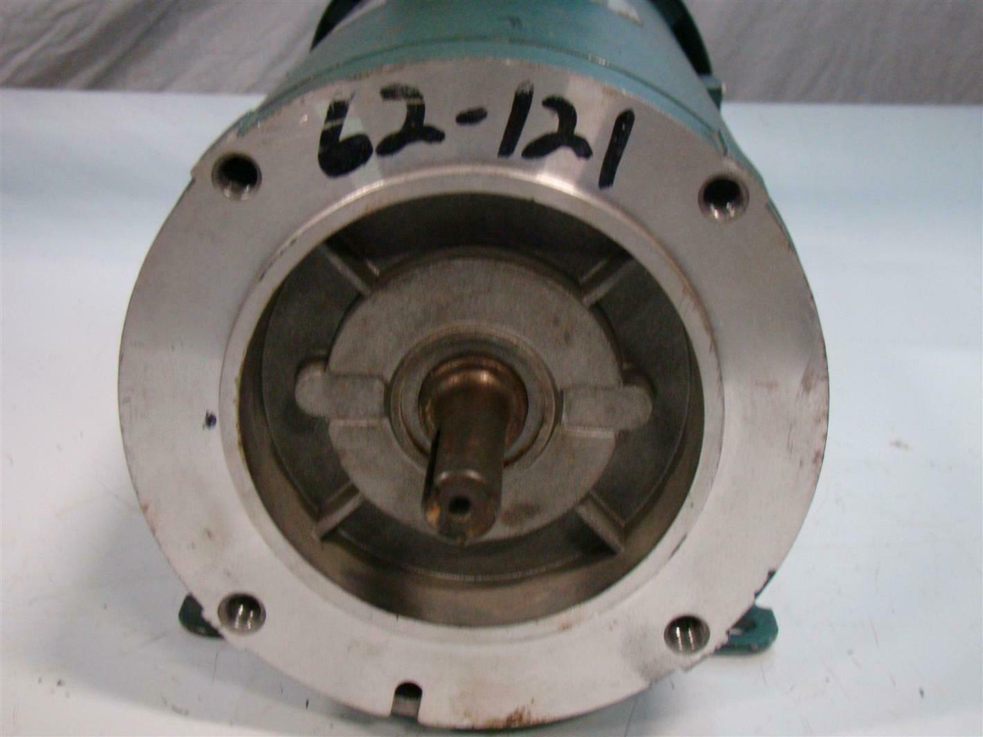 Reliance Electric Small Dc Motor Rpm Xl 1hp 1750rpm