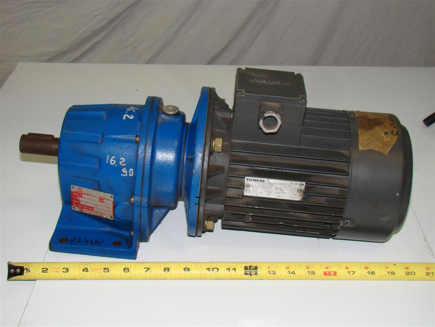 Siemens Electric Motor 3ph 400 230v 27116660