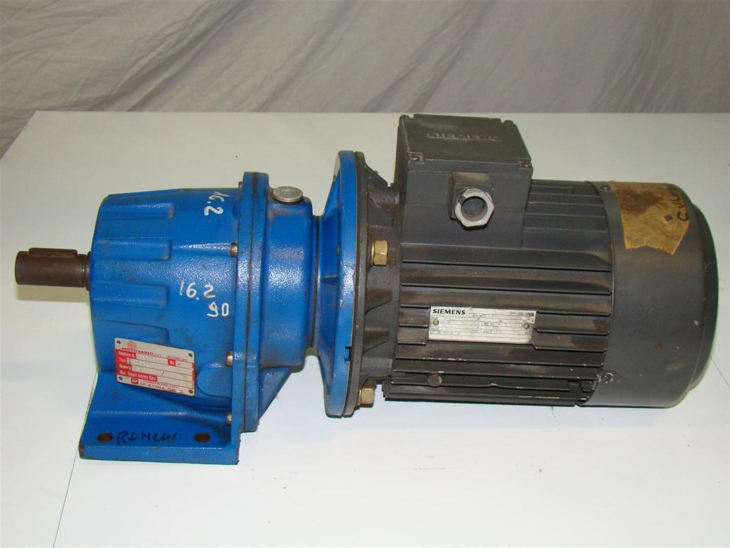 Siemens Electric Motor 3ph 400 230v 27116660