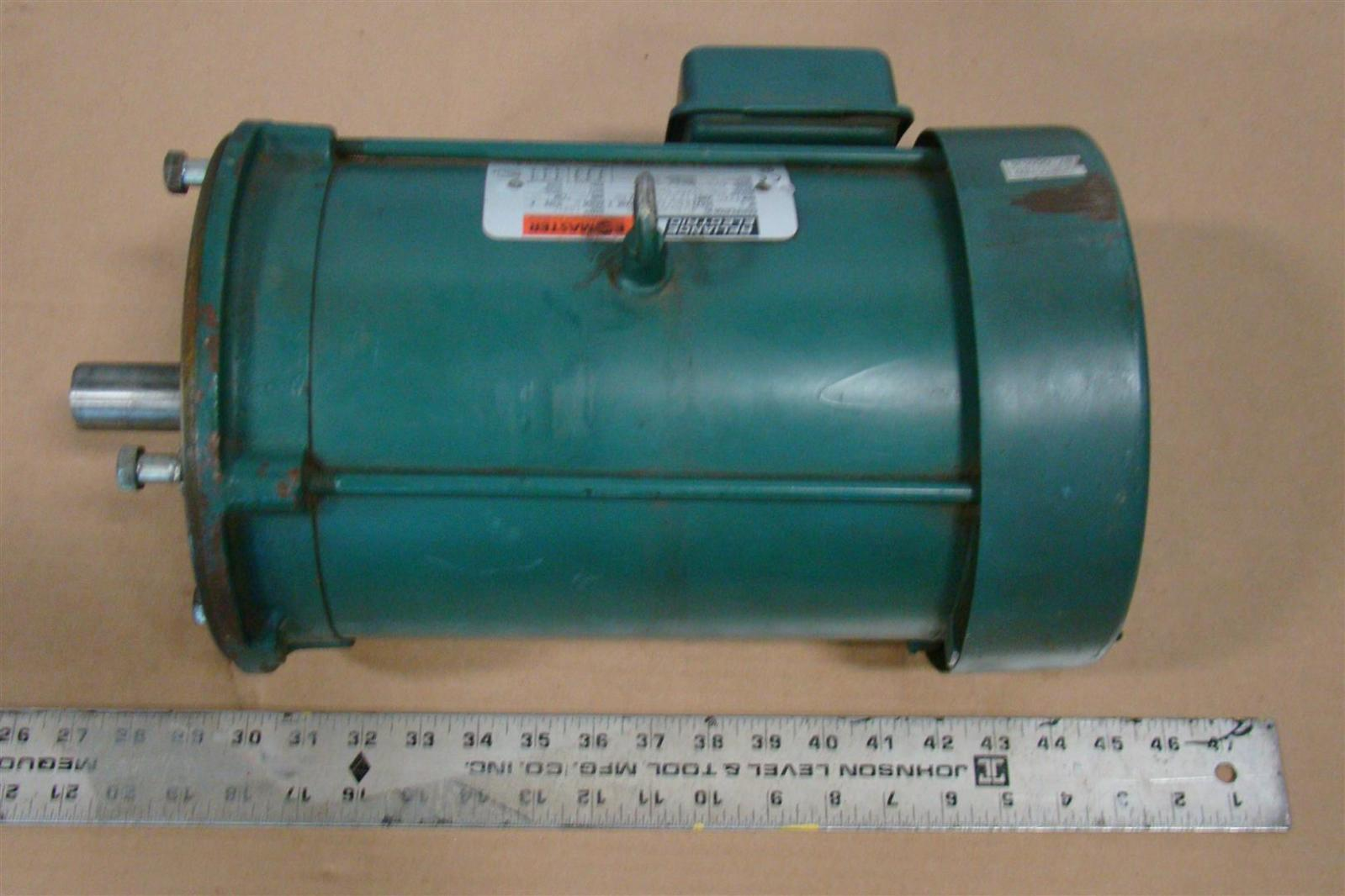 Reliance Electric Motor 5 Hp 230 460v 12 6 6 3 Amps 3