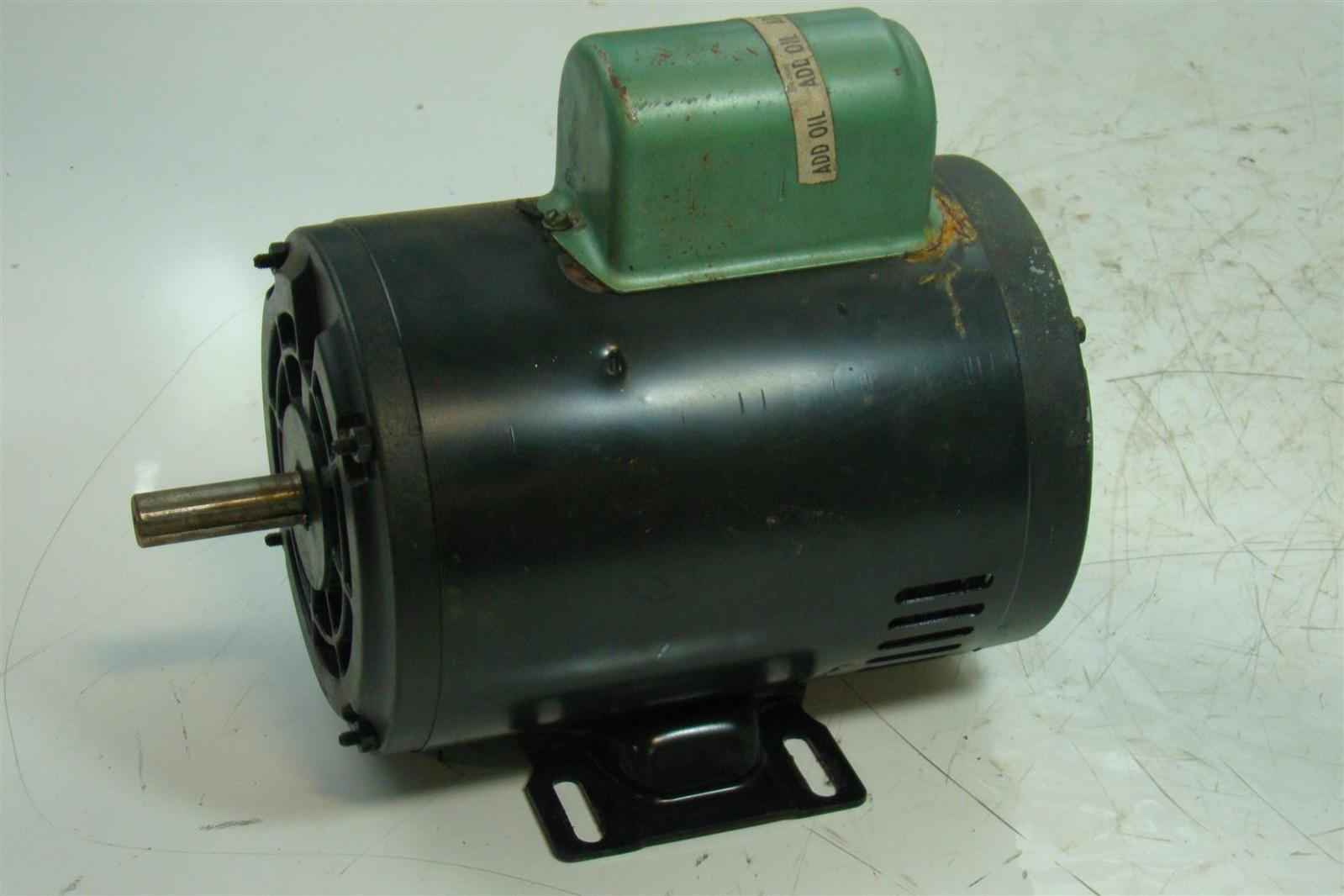 Dayton electric motor 2hp single phase 115 230v 3450rpm for 2 hp electric motor single phase