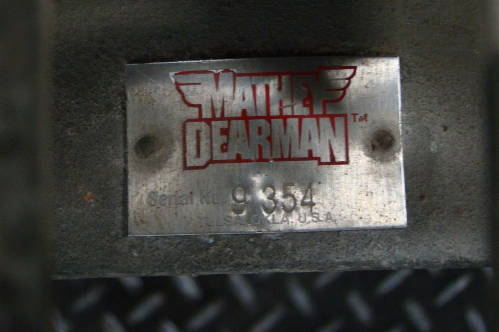 mathey dearman 12 beveling machine