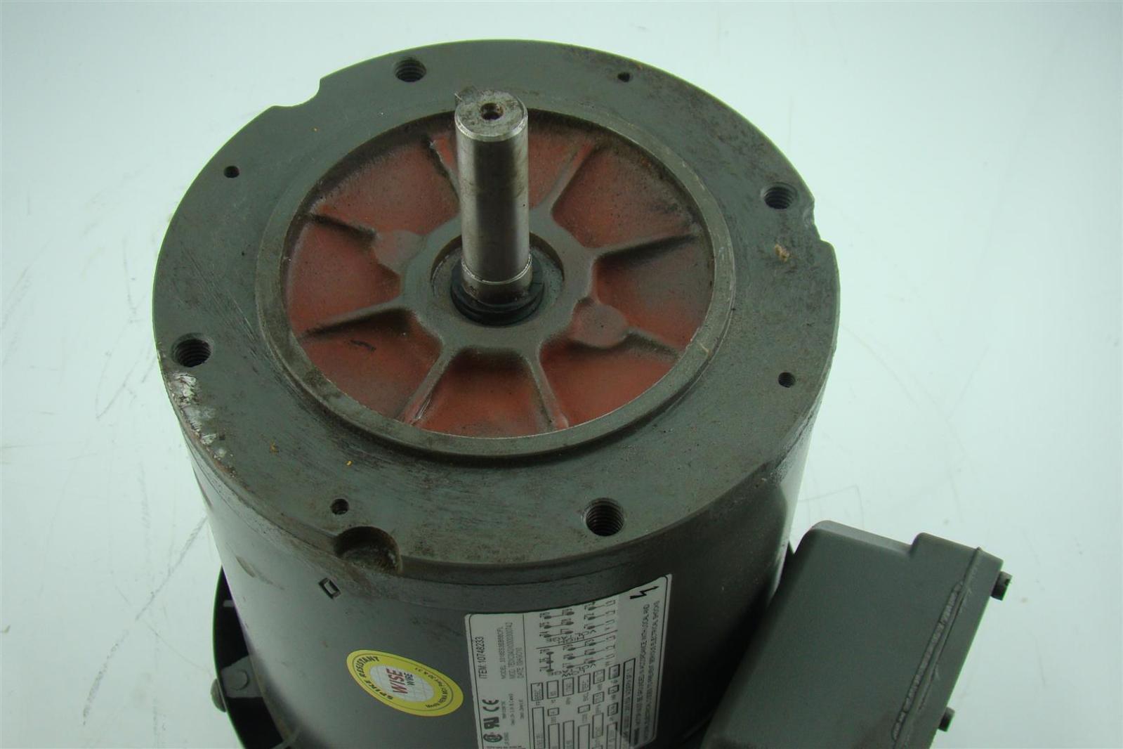 Weg Ac Motor 1 3 Hp 1730 Rpm 56c Frame Tefc 230 460