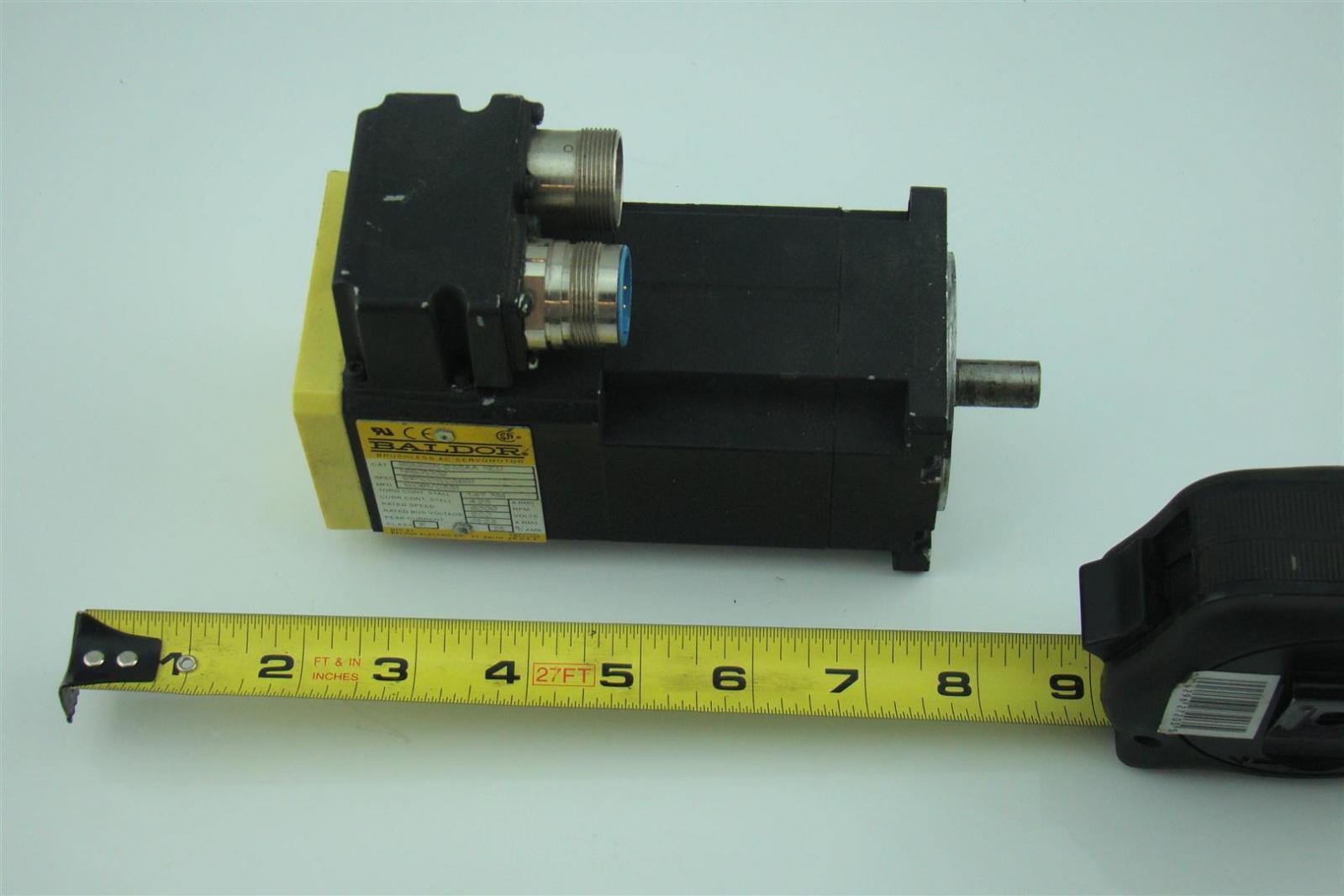 Baldor Neo Brushless Ac Servo Motor Bsm63n 233aa Joseph