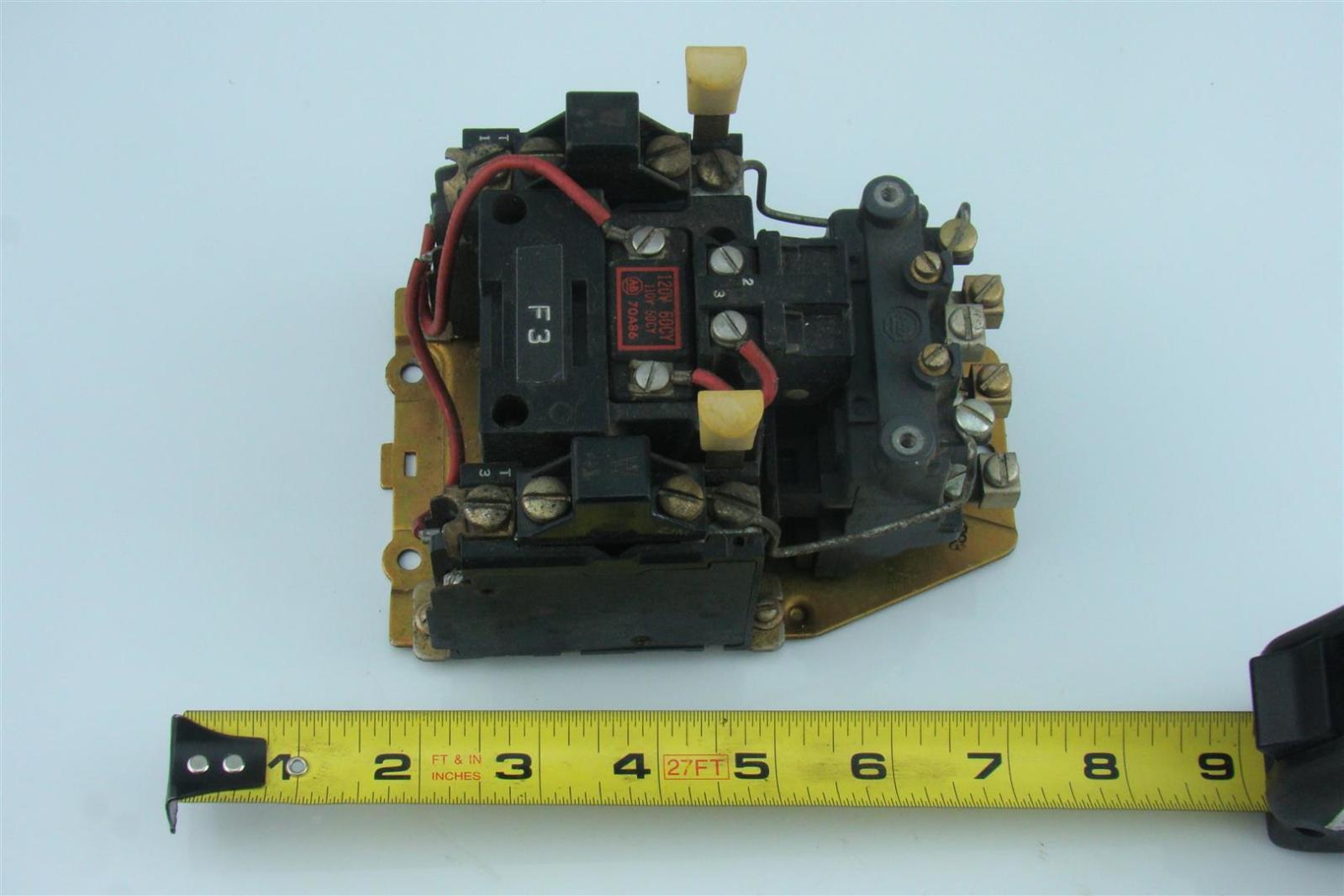 Allen Bradley Motor Starter 110v Coil Joseph Fazzio