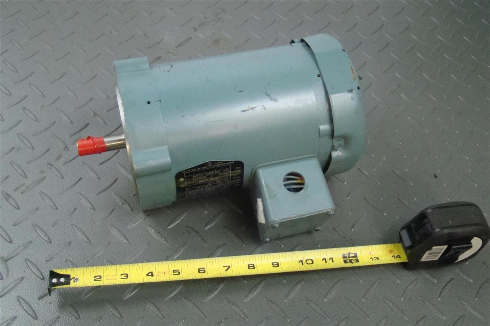 Reliance Electric Baldor Motor P56h5069 1 2 Hp 56c 1725